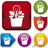 Icon series: idea Stock Photo