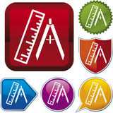 Icon series: measurement Stock Image