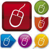 Icon series: mouse Royalty Free Stock Image