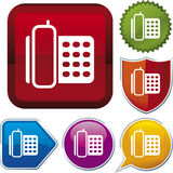Icon series: telephone Royalty Free Stock Images