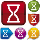 Icon series: time (vector) Stock Photos