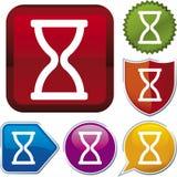 Icon series: time (vector) Stock Photos