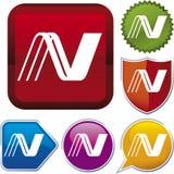 Icon series: union Stock Image