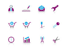 Icon series...web Royalty Free Stock Photography