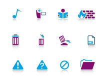 Icon series...web Stock Images