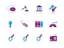 Icon series...web Royalty Free Stock Photo