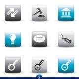 Icon series - web universal Stock Photography