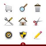 Icon series - web universal Royalty Free Stock Photo
