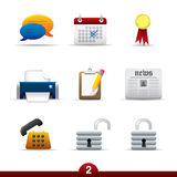 Icon series - web universal Royalty Free Stock Images