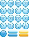 Icon Set � Folders (Vector) Royalty Free Stock Photos