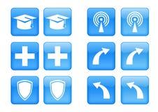 Icon set Royalty Free Stock Photo