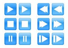 Free Icon Set Royalty Free Stock Photos - 12729368