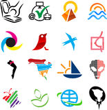 Icon set. Stock Image