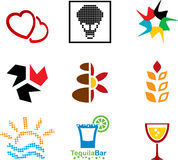 Icon set. Stock Images