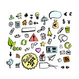 Icon set. For Web Applications - Vector Stock Photography