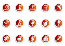Icon set Stock Photography