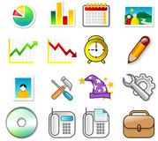 ICON SET Stock Photos