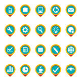 Icon set. Stock Photo