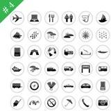 Icon set #4 Royalty Free Stock Photos