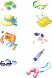 Icon set. Vector image with icon set Stock Photography