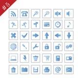 Icon set #5 Stock Images