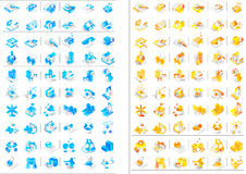 Icon Set 55 Stock Photography