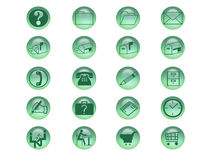 Icon Set. For web or print Royalty Free Stock Photos