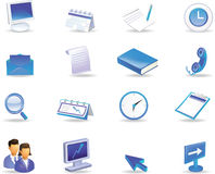 Icon Set Royalty Free Stock Photo