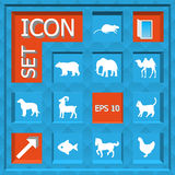 Icon set Royalty Free Stock Photos