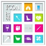 Icon set Stock Images