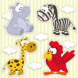 Icon set animal Stock Images