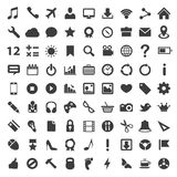 Icon set art technology file Royalty Free Stock Image