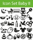 Icon Set Baby II Royalty Free Stock Photography
