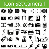 Icon Set Camera I Royalty Free Stock Photo