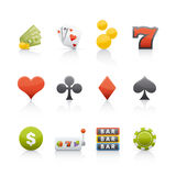 Icon Set - Casino Royalty Free Stock Photography