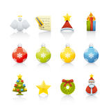 Icon Set - Christmas Stock Images