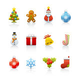 Icon Set - Christmas 2 Stock Photo