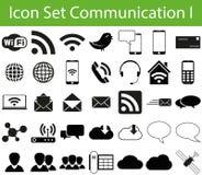 Icon Set Communication I Stock Image
