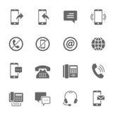 Icon set - communication Royalty Free Stock Photo