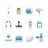 Icon Set - Computer Equipament Royalty Free Stock Images