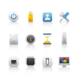 Icon Set - Computer Equipament 4 Royalty Free Stock Photos