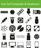 Icon Set Computer Stock Images