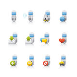 Icon Set - Comunications Royalty Free Stock Photos
