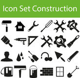 Icon Set Construction I. With 24 icons for different purchase Stock Photo