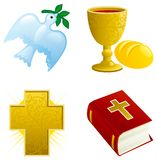 Icon set for easter Royalty Free Stock Photos