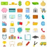 Icon Set. Easy to edit vector illustration of icon set for business, education and financial Stock Photo