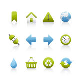 Icon Set - Ecology Stock Image