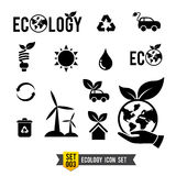 Icon set 003 Ecology icon collection Stock Photo
