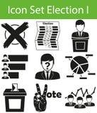 Icon Set Election I Stock Photos