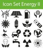 Icon Set Energy II Royalty Free Stock Photo